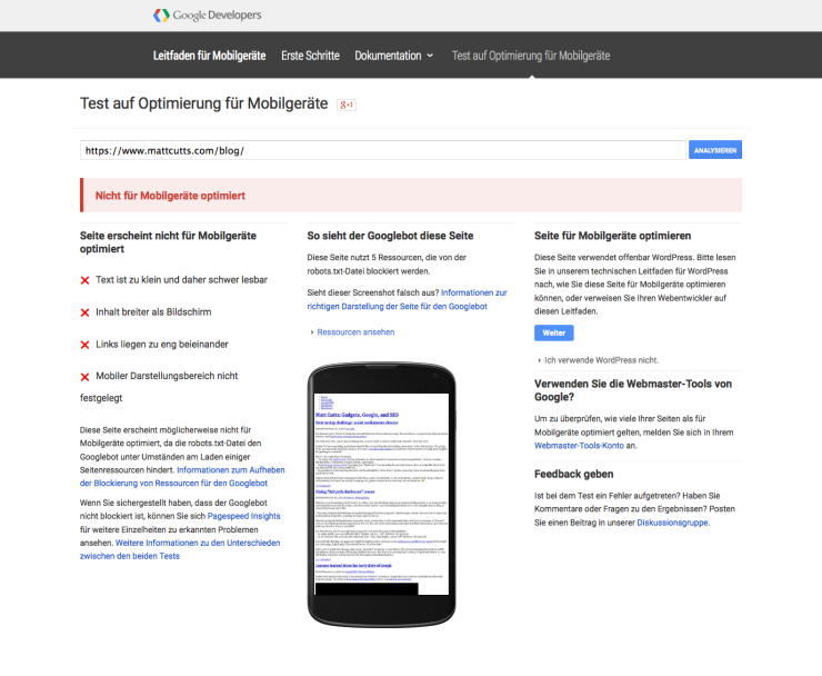 Google Update – Hat Matt Cutts das Google Update verpennt?